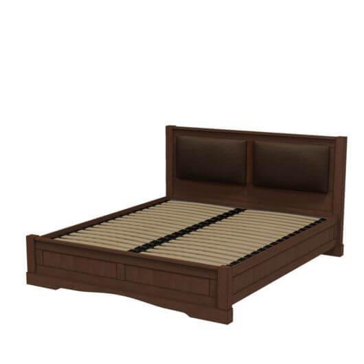 """Ліжко """"Корадо"""" (шкіряні вставки)"""