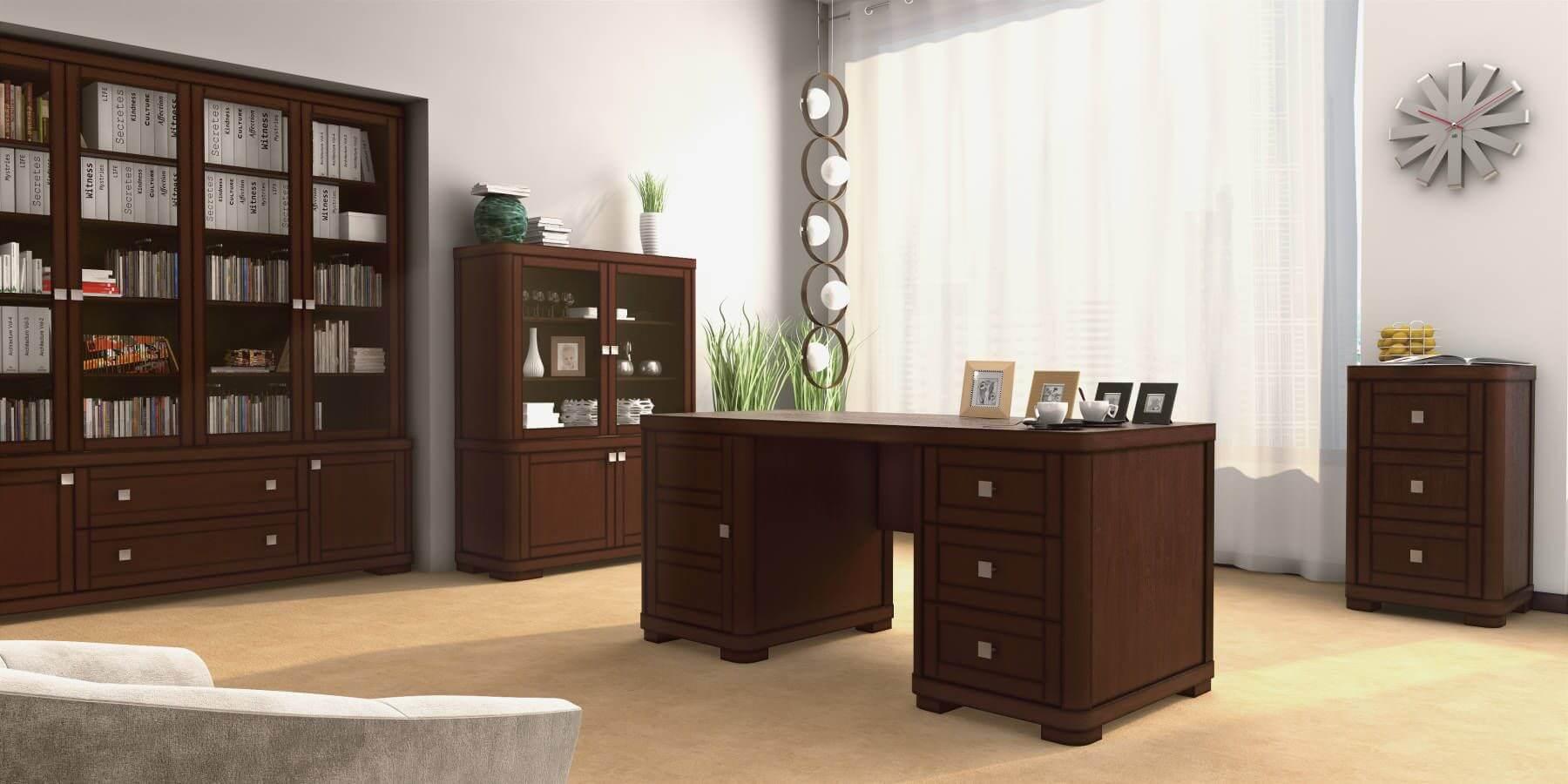 Дерев'яні меблі для офісу з колекції «Спарта»