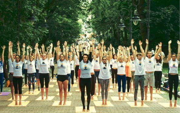 Святкування Міжнародного Дня Йоги у Львові