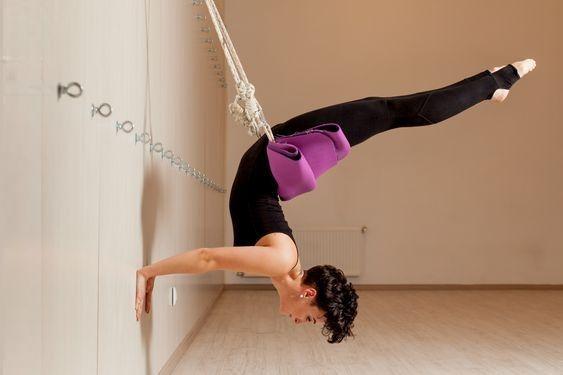 Yoga-wall (Йоґа на мотузках)