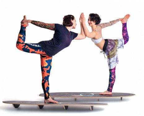 Йога на баланс-бордах