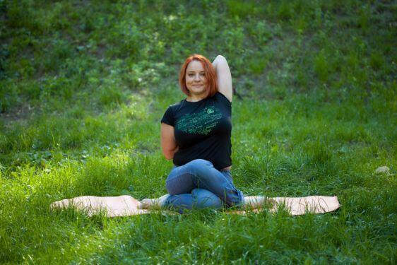 Ольга Головня. Інструктор з вріддхі-йоги (від 35 років) та йогатерапії, лікар-кардіолог.
