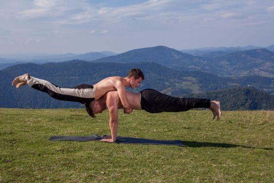 Іван Улітко. Інструктор Української федерації йоги